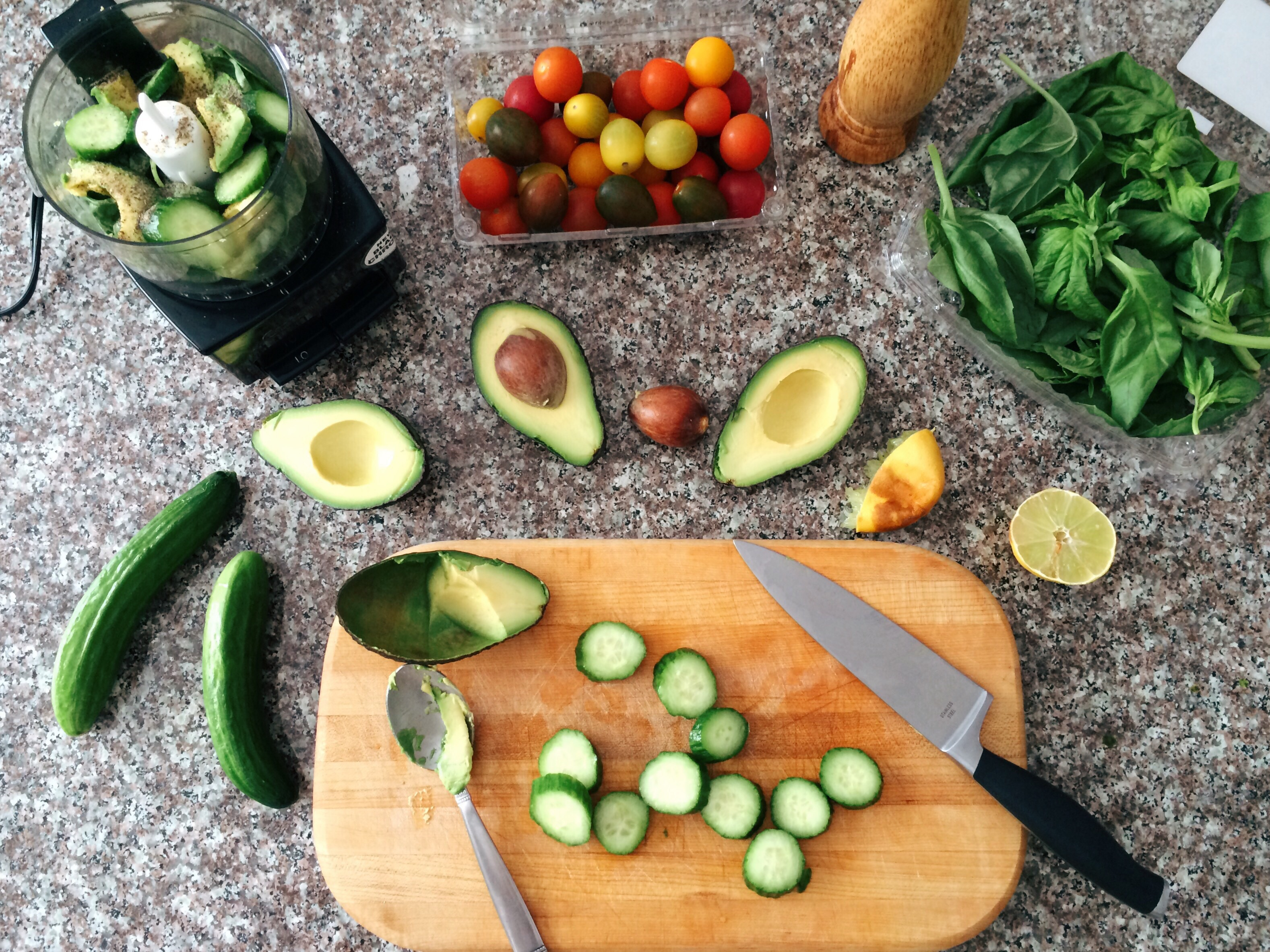 Zoodles Zucchini Noodles With Creamy Avocado Cucumber Sauce Watermelon Wallpaper Rainbow Find Free HD for Desktop [freshlhys.tk]