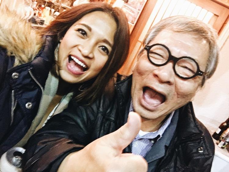 Mr. Yano, owner of J-Hoppers Osaka Hostel